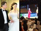 Đang làm cô dâu lộng lẫy, Á hậu Thanh Tú bỗng hét ầm khi đội tuyển Việt Nam ghi bàn tại bán kết AFF Cup 2018