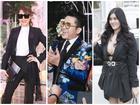 'Lên đồ' như 'vedette' dự đám cưới, vợ chồng MC Thanh Bạch - Quế Vân đứng đầu top SAO MẶC XẤU tuần qua