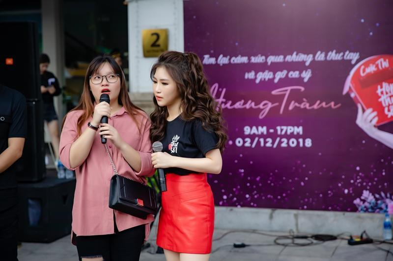 Hương Tràm ngạc nhiên khi thấy đông đảo fan nhí đồng thanh hát Duyên mình lỡ-6