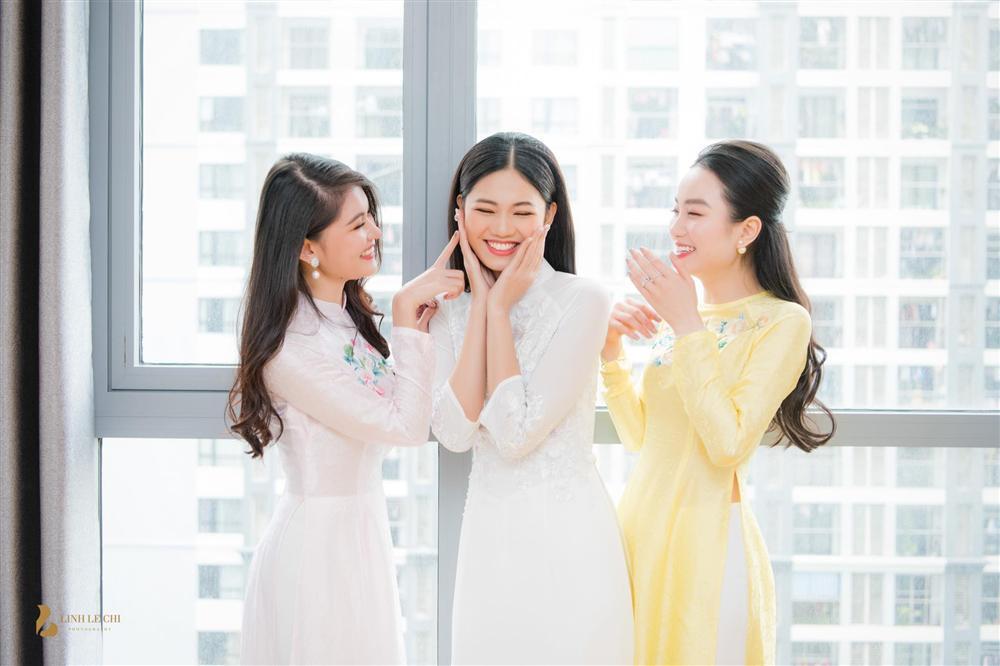 Hoa hậu Ngọc Hân nói về chồng Á hậu Thanh Tú: Người đàn ông nguyện làm tất cả để đổi lấy nụ cười của Tú-9