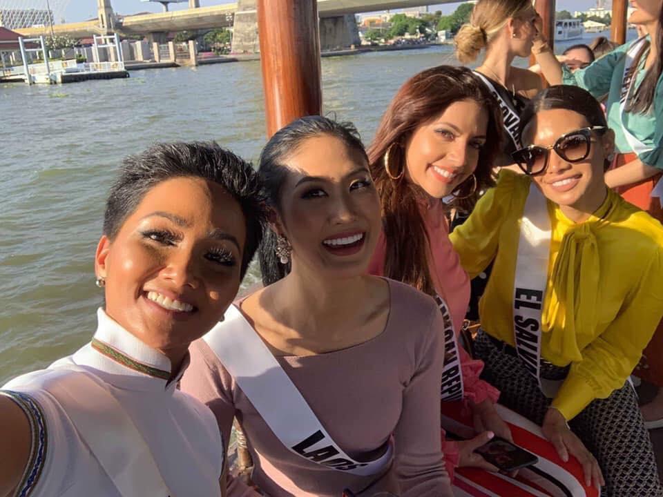Bắn tiếng Thái khiến người dân phát cuồng, HHen Niê nổi bần bật giữa dàn mỹ nhân Miss Universe 2018-5