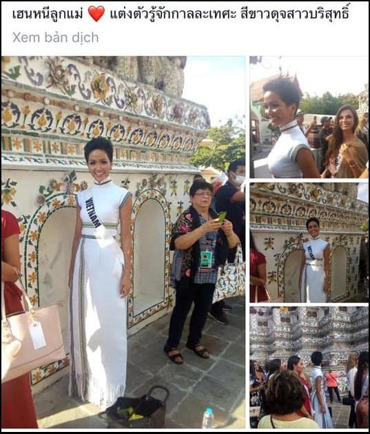 Bắn tiếng Thái khiến người dân phát cuồng, HHen Niê nổi bần bật giữa dàn mỹ nhân Miss Universe 2018-10