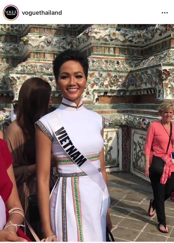 Bắn tiếng Thái khiến người dân phát cuồng, HHen Niê nổi bần bật giữa dàn mỹ nhân Miss Universe 2018-9