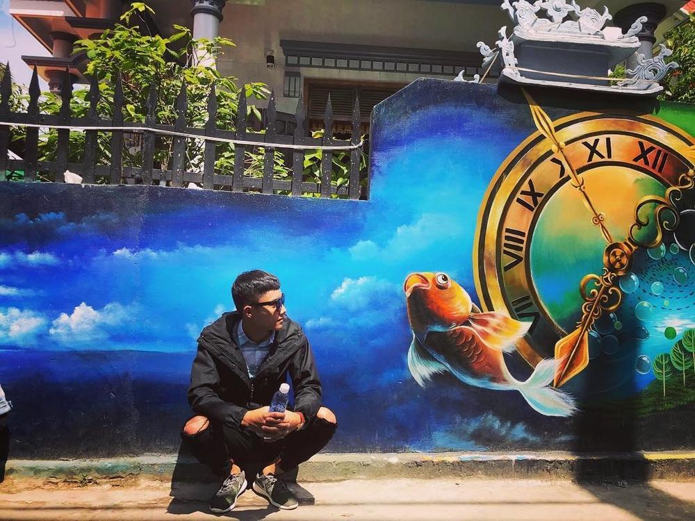 Check- in ngôi làng bích họa đẹp mộng mơ ở Quảng Bình-4