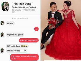 Chàng trai 9X cưới được vợ đẹp nhờ một lần 'like dạo'