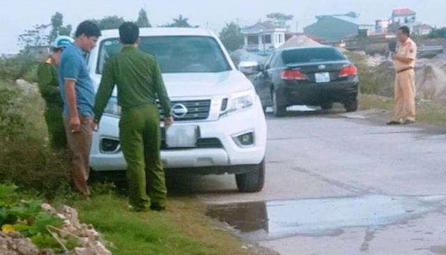 Nam Định: Thượng úy công an tử vong trong ô tô - Nghi chuẩn bị kỹ để tự tử-2