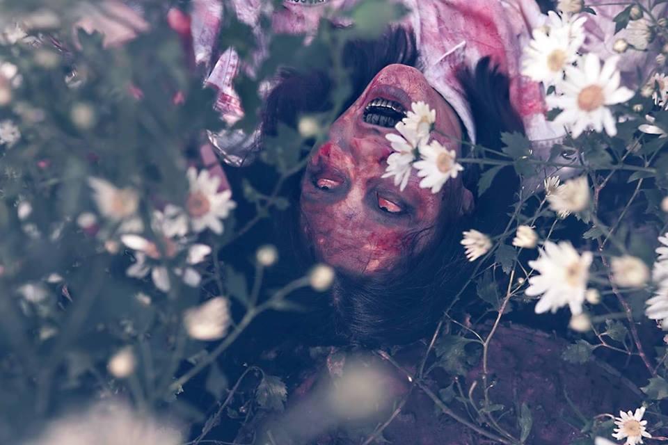 Xác sống vật vờ giữa vườn cúc họa mi, đố ai không sốc tận óc khi xem loạt khoảnh khắc này-6
