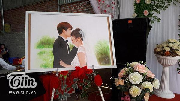 Studio làm ảnh không có tâm, cô dâu nhanh trí tự vẽ ảnh cưới khiến hôn lễ độc đáo ngoài sức tưởng tượng-2