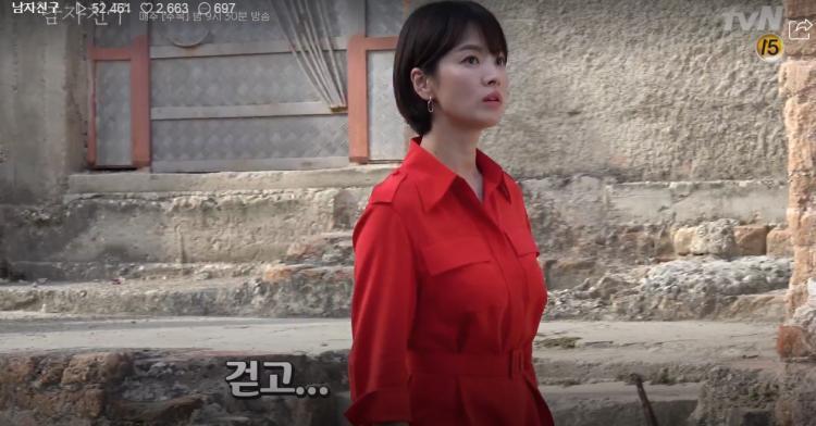 Encounter tung clip hậu trường ở Cuba: Park Bo Gum nghịch ngợm, Song Hye Kyo sang chảnh nhưng thân thiện-2