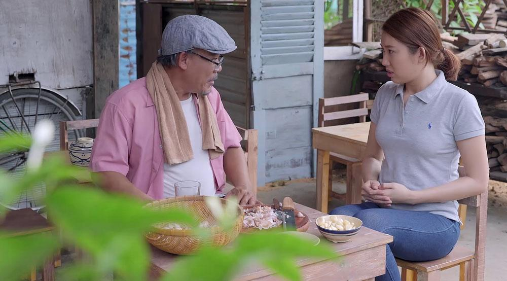 Gạo nếp gạo tẻ tập 93: Sau biết bao lần tạo nghiệp, Hân đã cúi mình nói lời xin lỗi Hương-3