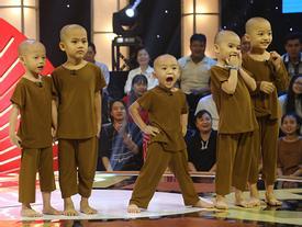 5 chú tiểu được giải 100 triệu vẫn không biết mình chiến thắng ở 'Thách thức danh hài'