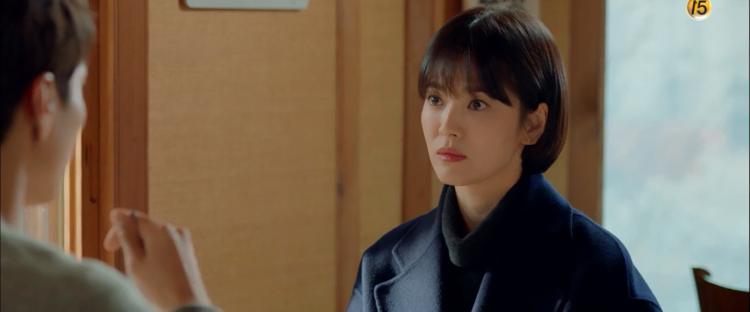 Phân đoạn đắt giá nhất tập 3 Encounter: Park Bo Gum đặt câu hỏi về mối quan hệ với Song Hye Kyo và nói Tôi thật sự nhớ cô-3
