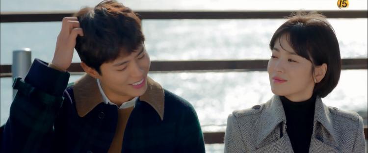 Phân đoạn đắt giá nhất tập 3 Encounter: Park Bo Gum đặt câu hỏi về mối quan hệ với Song Hye Kyo và nói Tôi thật sự nhớ cô-2