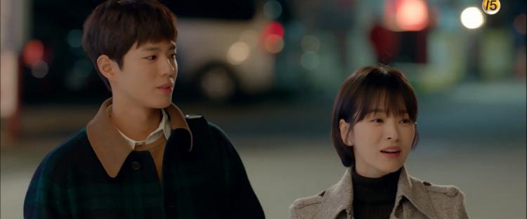 Phân đoạn đắt giá nhất tập 3 Encounter: Park Bo Gum đặt câu hỏi về mối quan hệ với Song Hye Kyo và nói Tôi thật sự nhớ cô-1