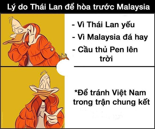 Ảnh chế tạm biệt Thái Lan và pha penalty lên trời để né Việt Nam-5