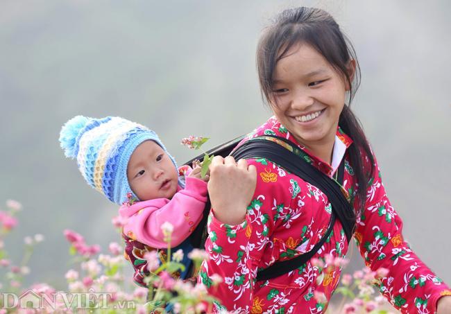 Ảnh: Mê mẩn những đồi hoa tam giác mạch ở Hà Giang-7