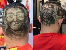 CĐV đổ xô đi tạo hình HLV Park Hang-seo trên tóc, hào hứng cổ vũ đội tuyển Việt Nam