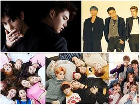 Tháng 12 - tháng trở lại của những ông lớn Kpop