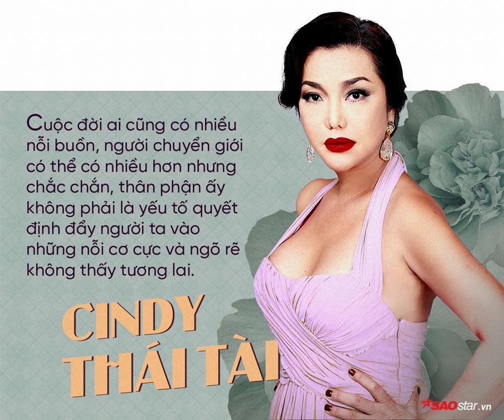 Người chuyển giới đầu tiên ở Việt Nam Cindy Thái Tài: Ngưng tỏ ra đáng thương và lấy thước đo sinh con để tự hạ thấp mình-4