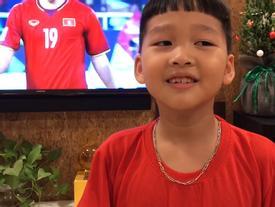 Quý tử nhà Bảo Thanh bình luận cực hay về chiến thắng của tuyển Việt Nam tại bán kết AFF Cup 2018