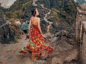 Ninh Bình đẹp ma mị như trong phim cổ trang