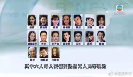 Đài TVB Hong Kong tiết lộ 17 ngôi sao bị truy thu thuế: Bất ngờ Dương Mịch, Triệu Vy và nhiều sao hạng A bị gọi tên-2