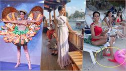 Không chỉ có dép tổ ong và quốc phục Bánh Mì, H'Hen Niê luôn dùng trang phục để khẳng định 'Tôi là người Việt Nam'