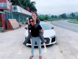 Cường Đô La hạnh phúc cõng Đàm Thu Trang, dân mạng trêu thiếu gia phố núi: 'Nhỏ mà có võ'
