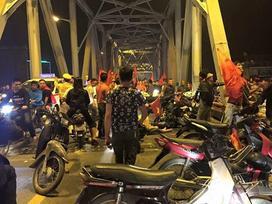 Hàng loạt tai nạn, va chạm sau đêm 'bão' mừng chiến thắng của tuyển Việt Nam