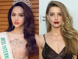 Hoa hậu Hương Giang sẽ có màn đọ sắc với mỹ nhân sở hữu khuôn mặt đẹp nhất thế giới