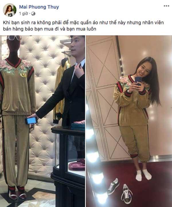 Đẳng cấp mua sắm hàng hiệu của Mai Phương Thúy: tậu đồ mới để đỡ mất công chọn lại đồ trong tủ-7
