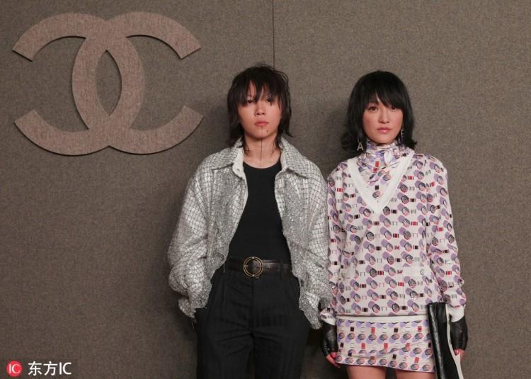 Hoa đán Châu Tấn lạ lẫm cá tính trong kiểu tóc ngắn tại show Chanel ở New York-1