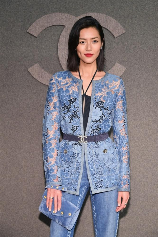 Hoa đán Châu Tấn lạ lẫm cá tính trong kiểu tóc ngắn tại show Chanel ở New York-4