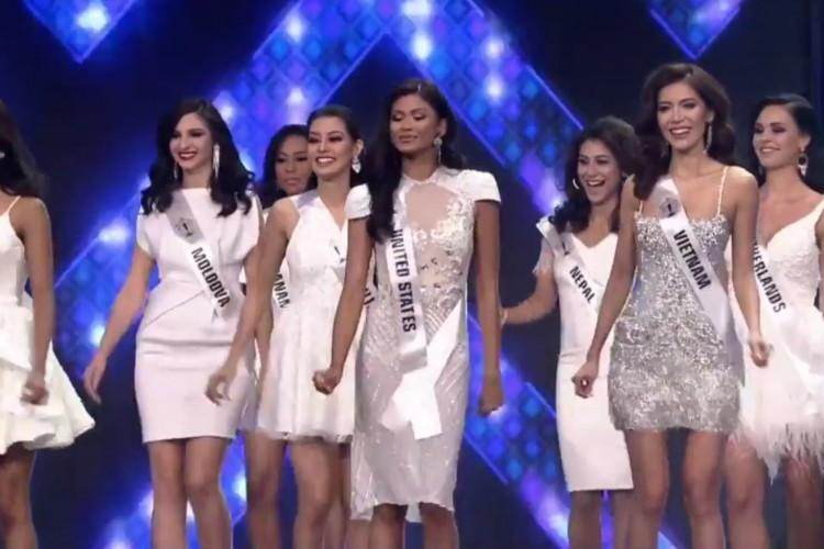 SHOCK: Minh Tú trượt top 5, người đẹp Puerto Rico bất ngờ đăng quang Hoa hậu Siêu quốc gia 2018-1