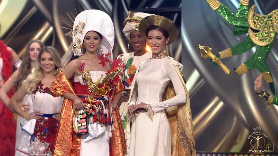 SHOCK: Minh Tú trượt top 5, người đẹp Puerto Rico bất ngờ đăng quang Hoa hậu Siêu quốc gia 2018-2