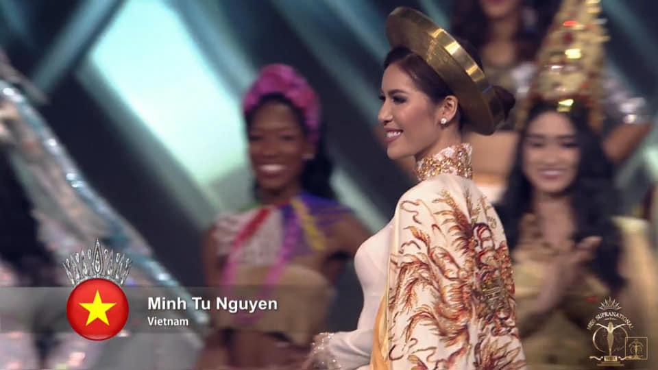 SHOCK: Minh Tú trượt top 5, người đẹp Puerto Rico bất ngờ đăng quang Hoa hậu Siêu quốc gia 2018-3