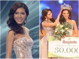 SHOCK: Minh Tú trượt top 5, người đẹp Puerto Rico bất ngờ đăng quang Hoa hậu Siêu quốc gia 2018