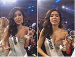 Trượt top 5 Hoa hậu Siêu quốc gia, Minh Tú nghẹn ngào khóc: 'Xin lỗi, tôi đã cố hết sức rồi'