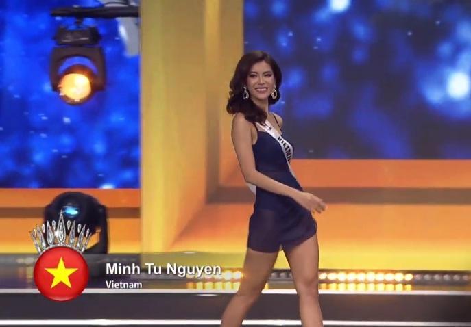 Trượt top 5 Hoa hậu Siêu quốc gia, Minh Tú nghẹn ngào khóc: Xin lỗi, tôi đã cố hết sức rồi-1