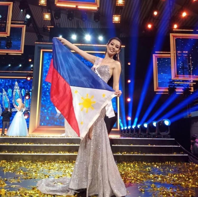 Đại diện Philippines bị kẻ xấu giật hỏng khóa váy ngay trong chung kết Hoa hậu Siêu quốc gia 2018-3