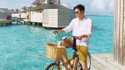 Quang Vinh khám phá cuộc sống phía sau resort 5 sao ở Maldives