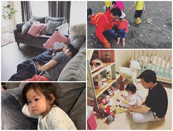 Ít khi khoe hình, nhiều người bất ngờ con gái ca sĩ Lam Trường mới 2 tuổi thôi mà đã có tướng mỹ nhân tương lai rồi-10