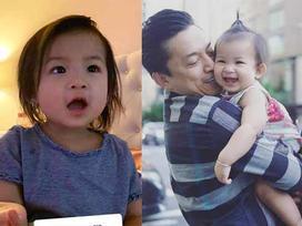 Ít khi khoe hình, nhiều người bất ngờ con gái ca sĩ Lam Trường mới 2 tuổi thôi mà đã có tướng mỹ nhân tương lai rồi
