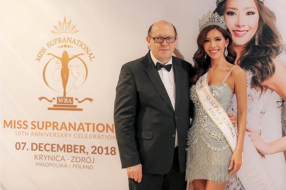 TIN VUI: Trượt top 5 nhưng Minh Tú vẫn được trao vương miện hoa hậu tại Miss Supranational 2018-3