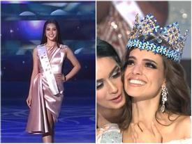Tiểu Vy trượt top 12, đại diện Mexico xuất sắc đăng quang Hoa hậu Thế giới 2018