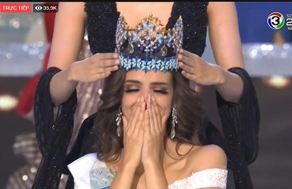 Mỹ nhân Mexico đăng quang Hoa hậu Thế giới 2018-2