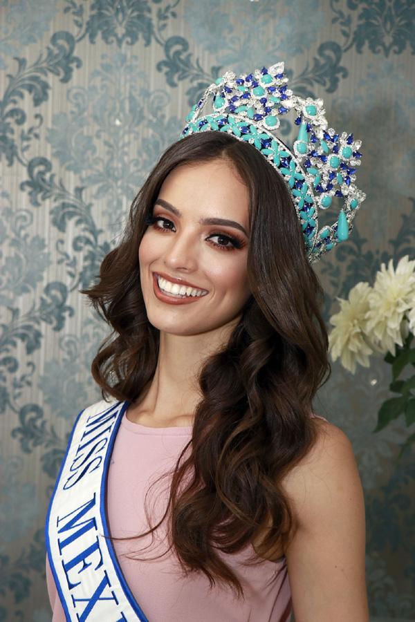 Nhan sắc nghiêng nước nghiêng thành của người đẹp Mexico vừa đăng quang Hoa hậu Thế giới 2018-3