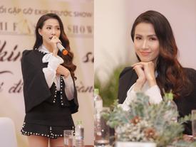 Phan Thị Mơ thừa nhận sụt cân 'không phanh' sau khi thi Hoa hậu Đại sứ Du lịch Thế giới 2018