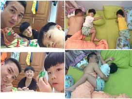 MC Hoàng Linh bất ngờ chia sẻ 'rất lẻ loi' kèm theo hình ảnh bán nude của ông xã khiến hội chị em ào ào vào bình luận