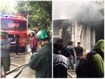 Hải Phòng: Cháy lớn tại quán karaoke, lan sang 2 tòa nhà bên cạnh-2